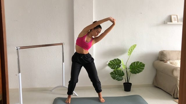 22 min ballet fitness abdominales