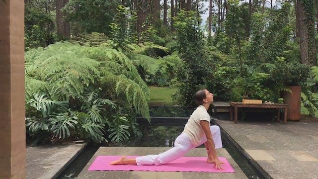 12 min hatha yoga saludos al sol