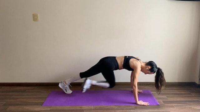 10 min entrenamiento funcional abdomen plano