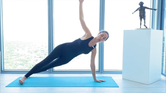 5 min pilates core planchas