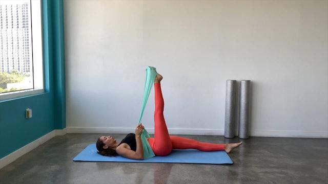 25 min pilates cuerpo entero con banda elástica