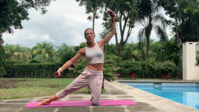10 min pilates fit brazos definidos