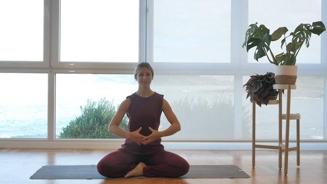 10 min de respiración energizante Ujjayi
