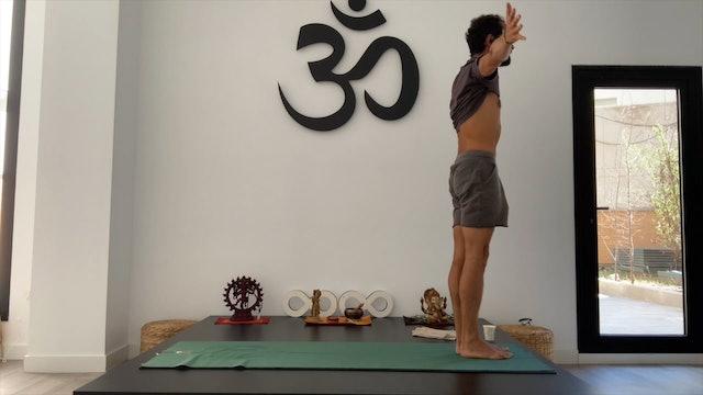 16 min ashtanga yoga express saludos al sol