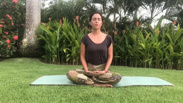 11 min meditación: cerrando el día
