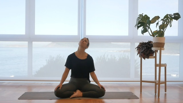 20 min de respiración relajante y movimiento suave