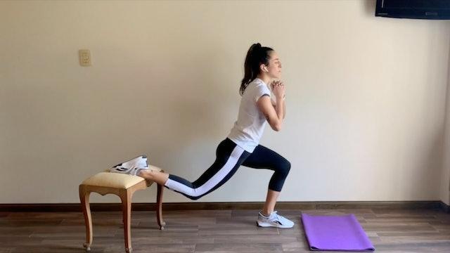 25 min HIIT glúteos, abs y piernas tonificadas