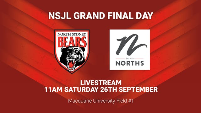 Norths Juniors Grand Final Day - Field 1