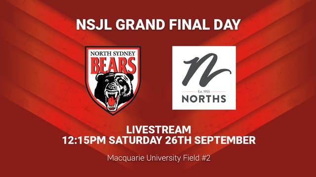 Norths Juniors Grand Final Day - Field 2 / Part 2