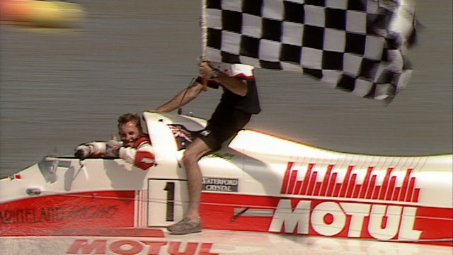 1991 AFOPDA F1 Powerboat GP Melbourne Watersports Centre - RAW