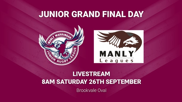 Manly Juniors Grand Final Day Saturday