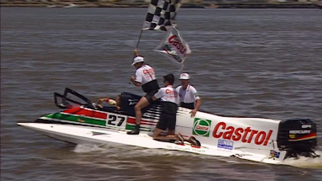 1996 AFOPDA  F1 Powerboats NEWCASTLE - RAW Footage