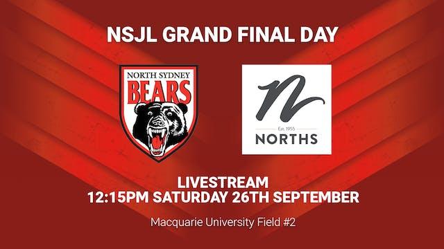 Norths Juniors Grand Final Day - Fiel...