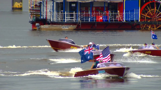2016 BAD Boats USA v AUS Challenge Part 1