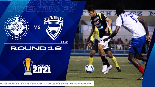 Liga Primera R12: Diriangén FC vs Juv...