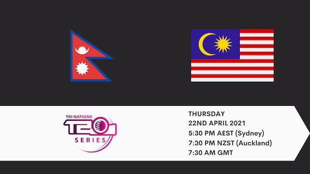 Nepal v Malaysia | T20 Game 6