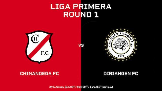 ESP | Liga Primera R1: Chinandega FC vs Diriangen FC