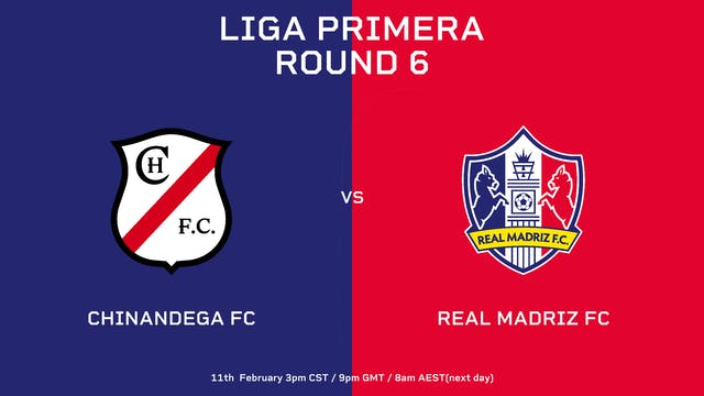 ESP | Liga Primera R6: Chinandega FC ...