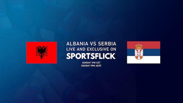 Albania vs Serbia u21