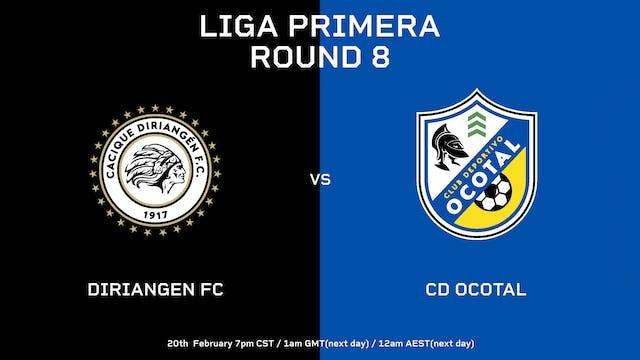 Liga Primera R9: Diriangén FC vs CD O...