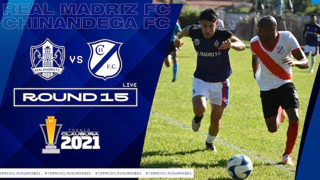 ESP | Real Madriz FC vs Chinandega FC...