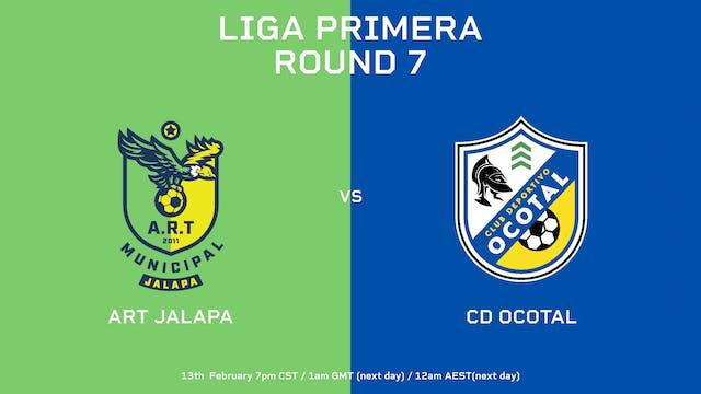 ART Jalapa vs CD Ocotal | Round 7