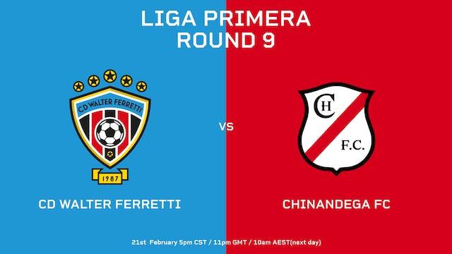 ESP | Liga Primera R9: CD Walter Ferr...