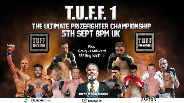 Tuff Promotions The Ultimate Prizefig...