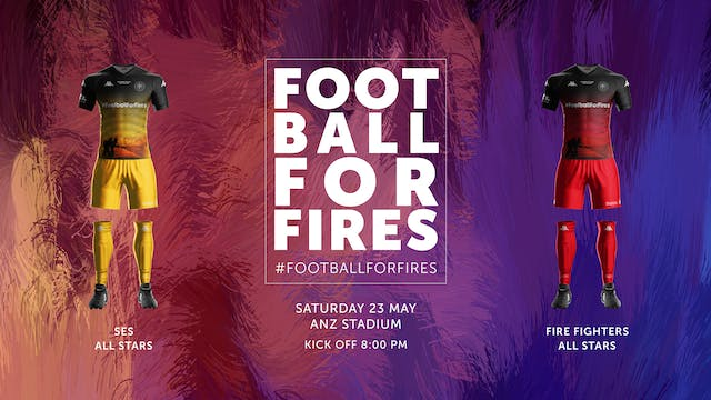 Football For Fires with David Beckham