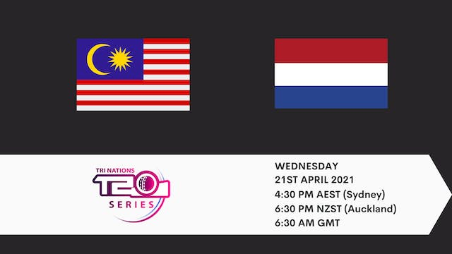 Malaysia v Netherlands | T20 Game 5