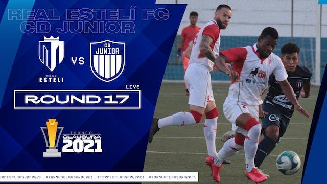 ESP | Liga Primera R17: Real Esteli F...