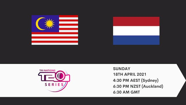 Malaysia v Netherlands  | T20 Game 2