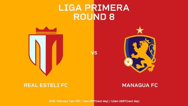 Liga Primera R9: Real Estelí FC vs Ma...