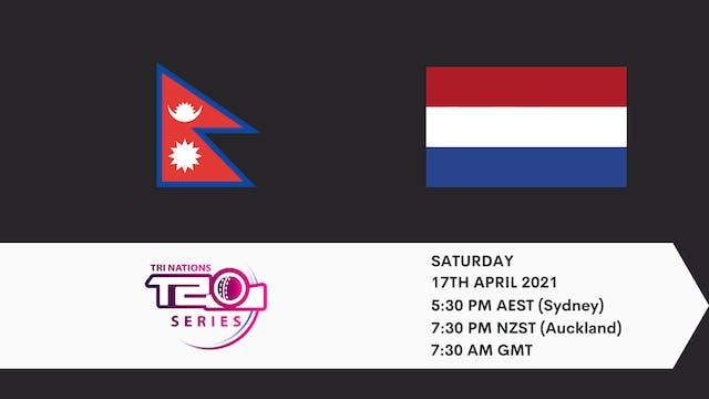 Nepal v Netherlands | T20 Game 1