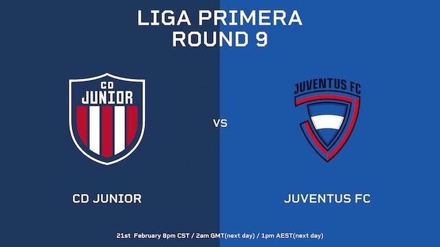 Liga Primera R9: CD Júnior vs Juventus FC