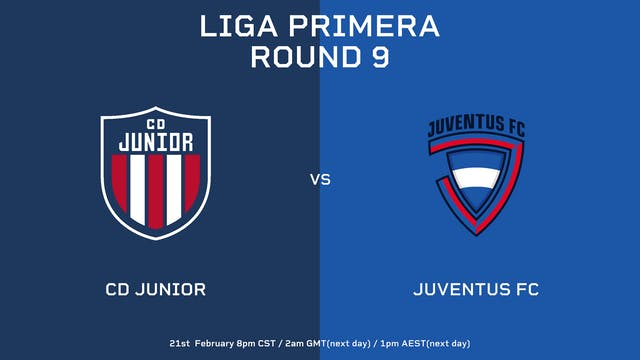 Liga Primera R9: CD Júnior vs Juventu...