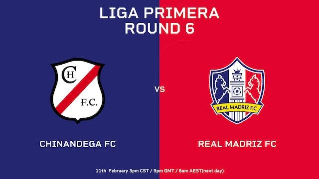 Chinandega FC vs Real Madriz FC   Round 6