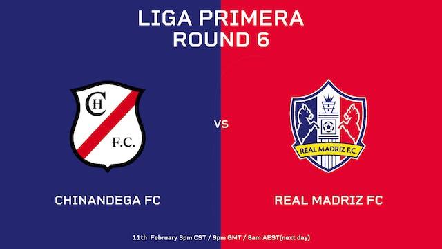 Liga Primera R6: Chinandega FC vs Rea...
