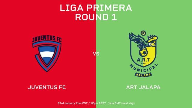 Liga Primera R1: Juventus FC vs ART J...