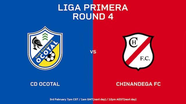 Liga Primera R4: CD Ocotal vs Chinandega FC