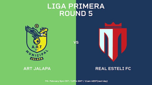 Liga Primera R5: ART Jalapa vs Real E...