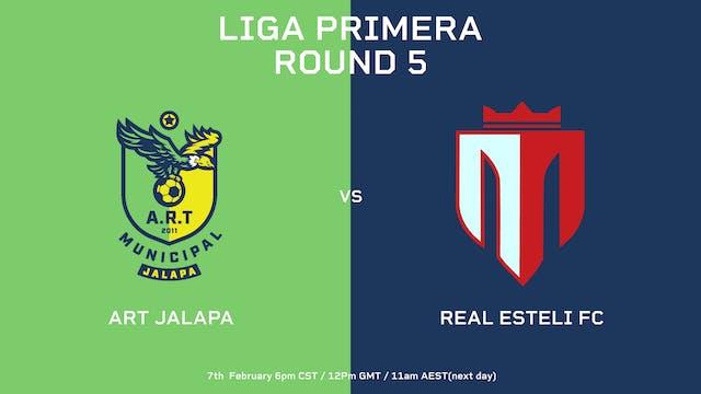 ART Jalapa vs Real Estelí FC | Round...