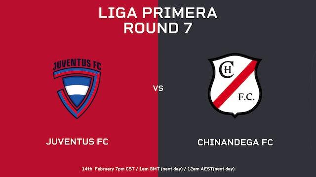 Liga Primera R7: Juventus FC vs Chinandega FC