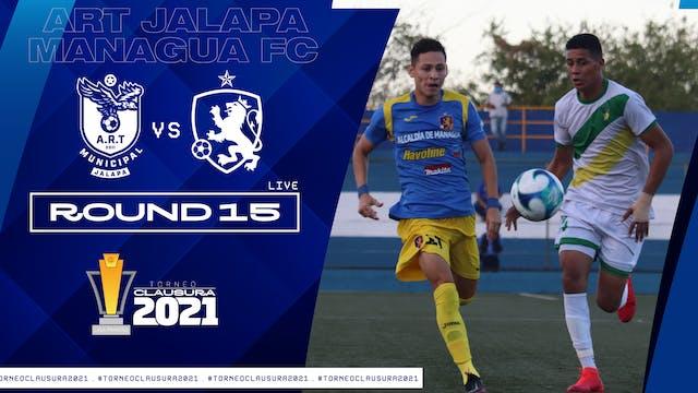 ESP | Liga Primera R15: ART Jalapa vs...