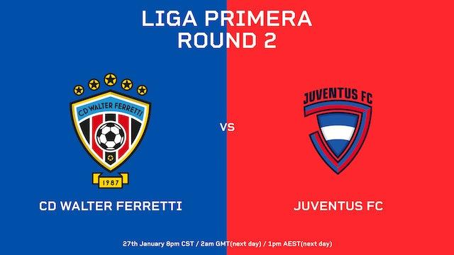 CD Walter Ferretti vs Juventus FC   Round 2