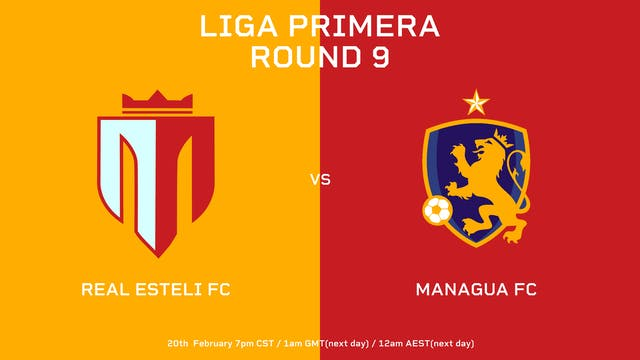 ESP | Liga Primera R9: Real Estelí FC...