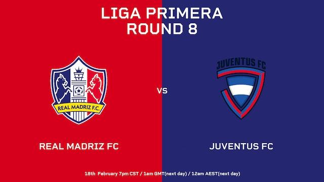 Liga Primera R8: Real Madriz FC vs Juventus FC