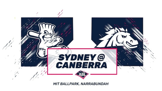 Canberra Cavalry - Sydney Blue Sox | Game 1