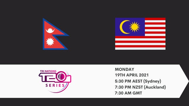 Nepal v Malaysia | T20 Game 3