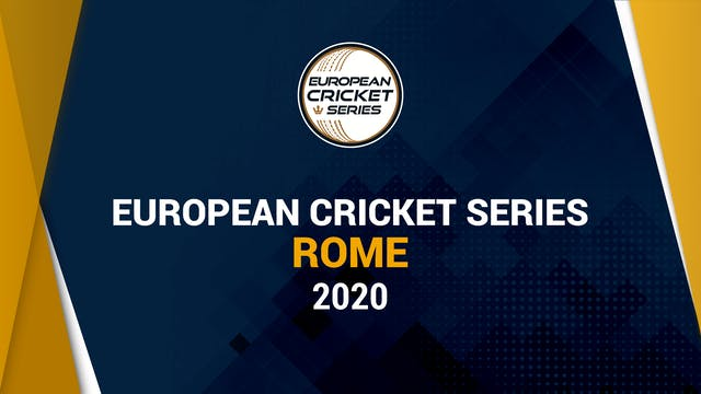European Cricket Series Rome